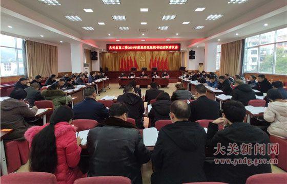 我县开展县直工委基层党组织书记述职评议